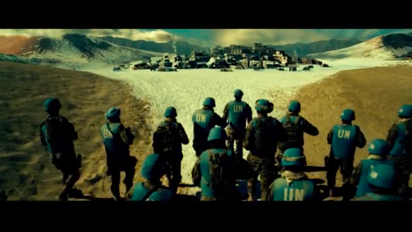 Скрин из фильма Геошторм